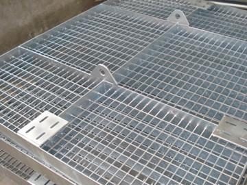 污水处理厂钢格栅板